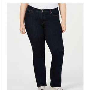 Levi's 518 black bootcut jeans like new 15